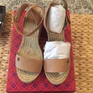 Tory Burch wedge espadrille size 7.5